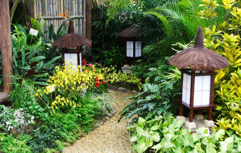 日式风格庭院设计图片-日式庭院设计效果图 农村庭院设计效果图 别墅